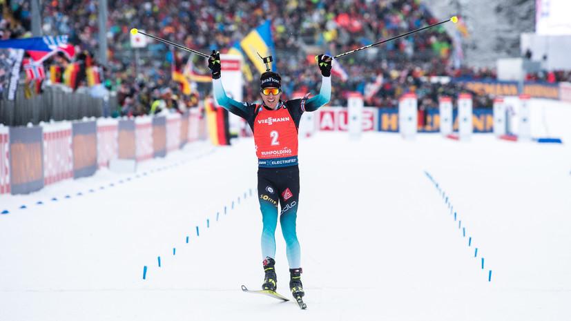 Фийон Майе победил в масс-старте на этапе КМ по биатлону в Поклюке