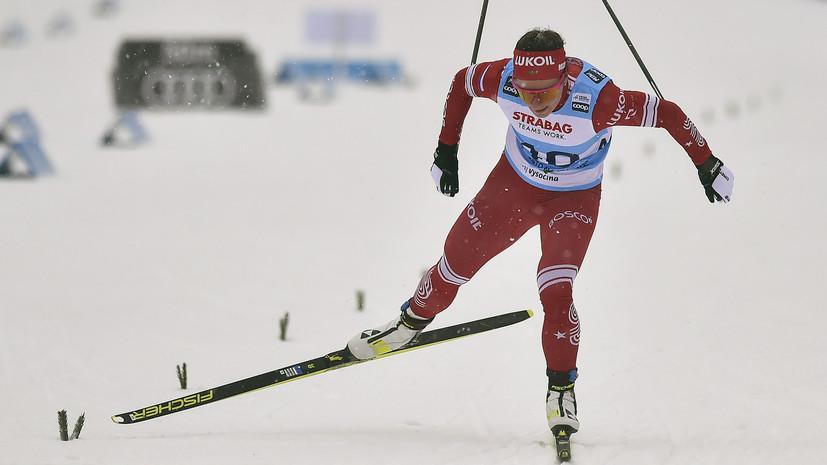 Непряева завоевала золото в спринте на этапе КМ по лыжным гонкам в Оберстдорфе