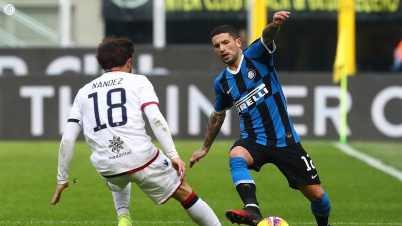 «Интер» сыграл вничью с «Кальяри» в 21-м туре Серии А