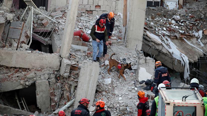 Число погибших в результате землетрясения в Турции достигло 38