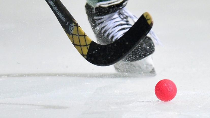 Сборная России стала победителем юниорского ЧМ по хоккею с мячом