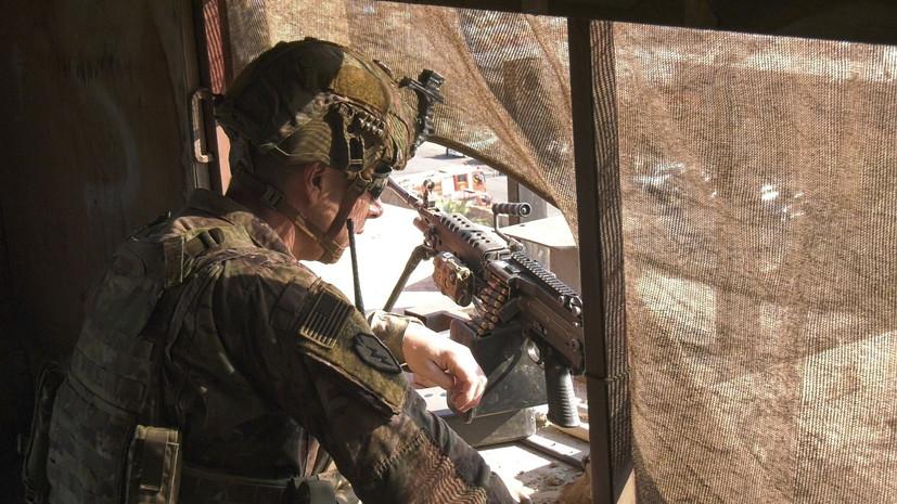 В Ираке прокомментировали удары по посольству США