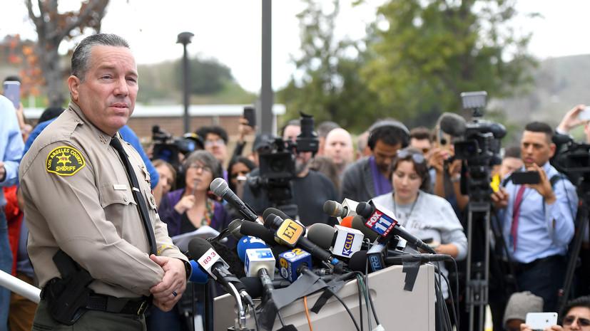 Шериф округа Лос-Анджелес заявил, что при крушении вертолёта Брайанта погибли девять человек