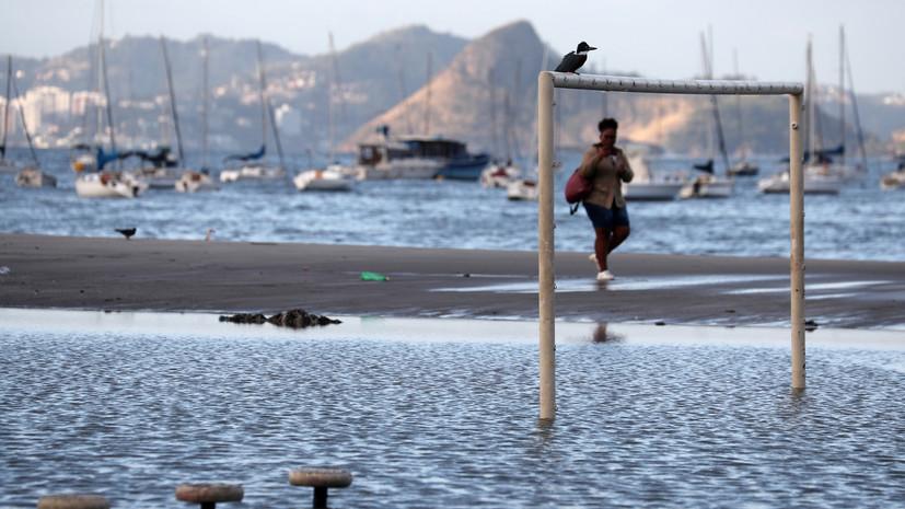 Жертвами паводков в Бразилии стали 53 человека