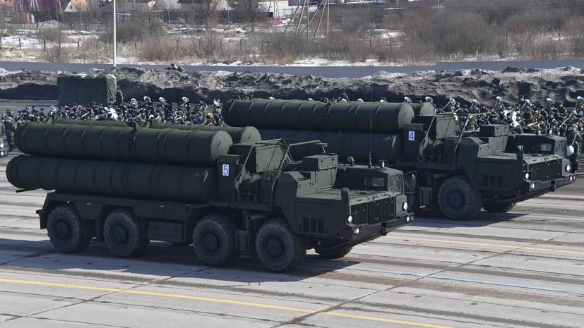 СМИ: Россия поставила второй полковой комплект С-400 в КНР