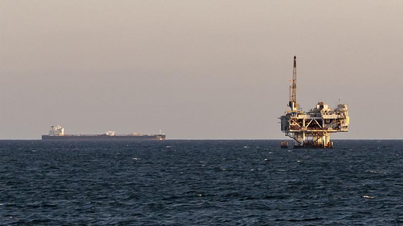 Цена на нефть Brent опустилась ниже $60 за баррель впервые с ноября