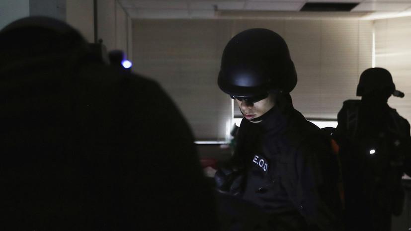 В одной из больниц Гонконга сработало самодельное взрывное устройство