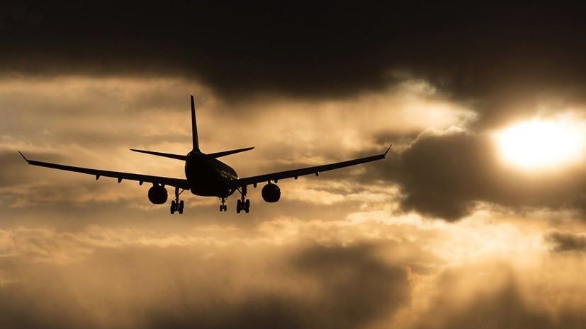 Самолёт возвращается в Хабаровск из-за сообщения о минировании