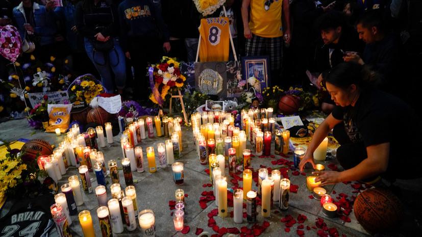 СМИ назвали имена всех погибших вместе с Брайантом при крушении вертолёта
