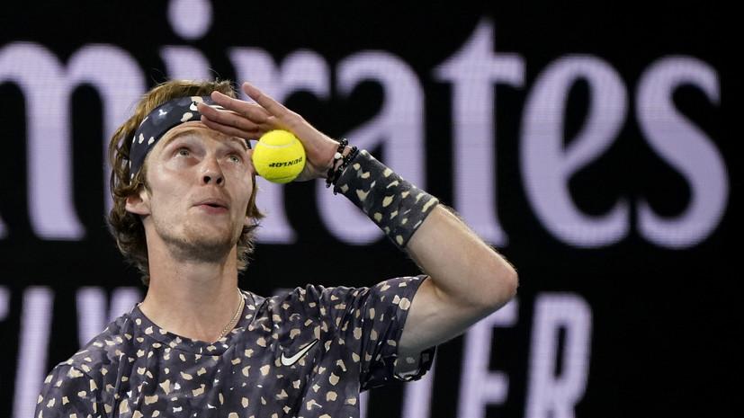 Рублёв проиграл Звереву в четвёртом круге Australian Open