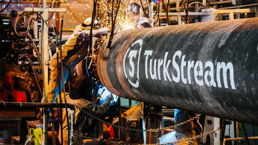 По «Турецкому потоку» поставлен первый миллиард кубометров газа