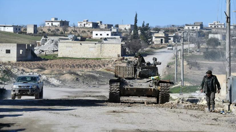 SANA: боевики нанесли удары по нефтяным объектам в сирийском Баниясе