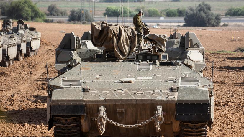 Израильская армия увеличивает численность войск в Иорданской долине