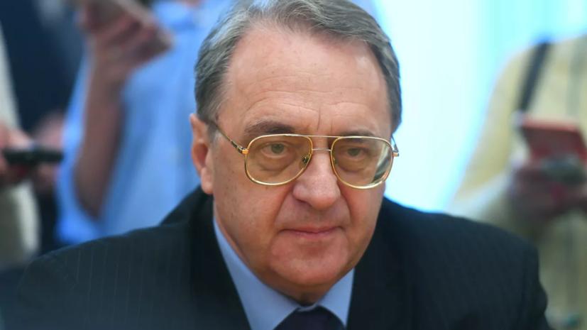 Богданов провёл встречу с Салливаном