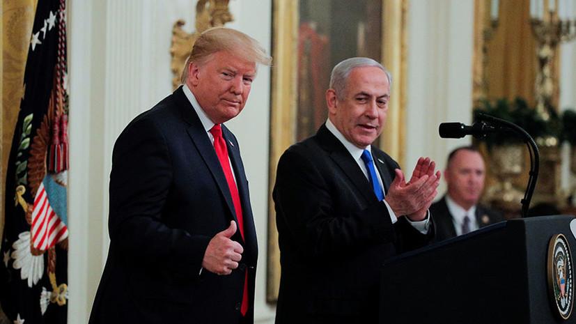 Трамп: по «сделке века» Иерусалимостанется неделимой столицей Израиля