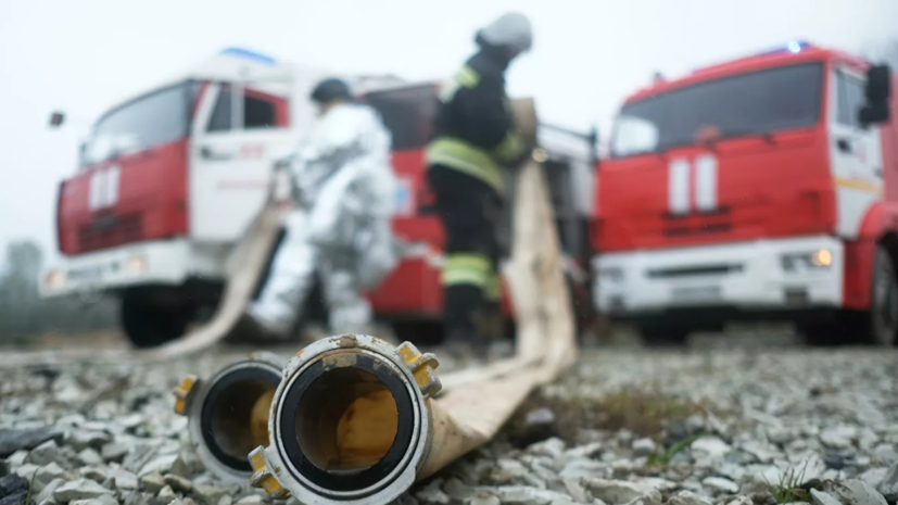 В Татарстане загорелась гимназия