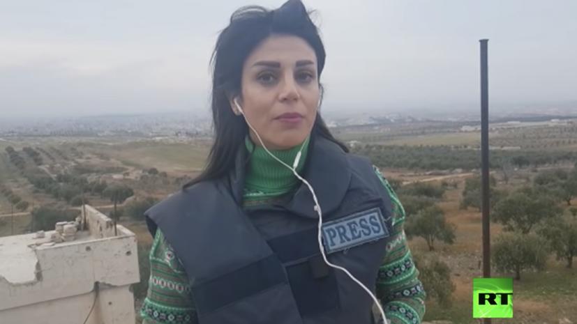 Корреспондент RT Arabic ранена в Сирии