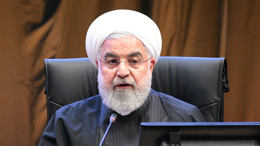 Рухани назвал «сделку века» отвратительным планом