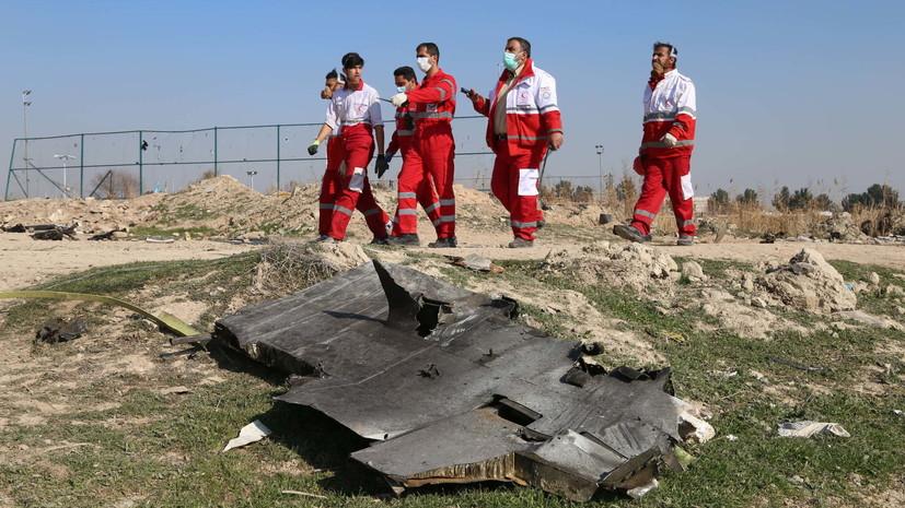 В Киеве назвали недостаточным содействие Ирана по делу о сбитом Boeing
