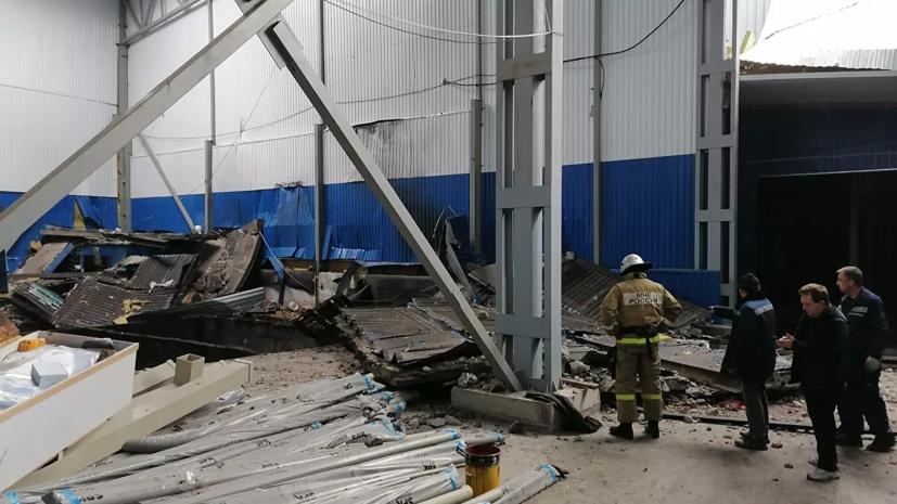 После взрыва в Мценске возбуждено уголовное дело