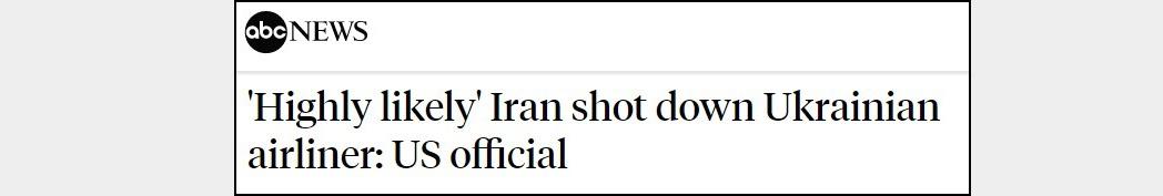 «Демонизация Ирана»: как Запад обвиняет Тегеран в причастности к крушению украинского Boeing 737