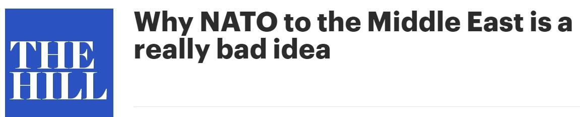 Неоднозначный альянс: может ли НАТО расшириться за счёт стран Ближнего Востока