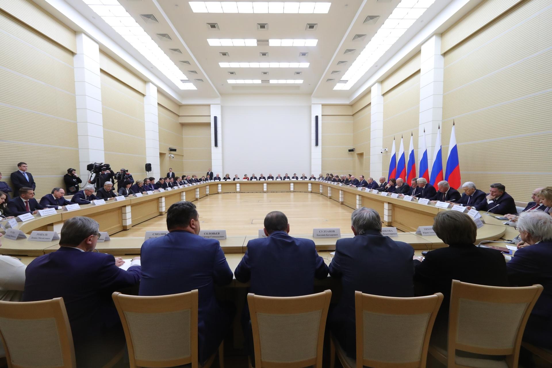 «Ответственность совершенно другого уровня»: Путин разъяснил суть предлагаемых поправок в Конституцию