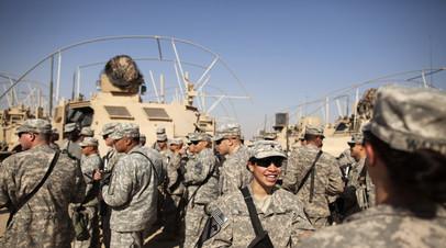 Солдаты армии США в Кувейте