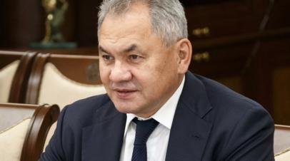 Шойгу обсудил с главой разведки Турции ситуацию на Ближнем Востоке