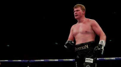 Британский боксёр Уайт выразил заинтересованность в бое с Поветкиным