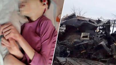На Урале сгорел дом женщины, которая пытается вернуть опеку над племянницами