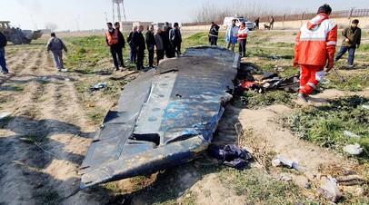 «Расследование продолжится для выявления виновных в трагедии»: Иран заявил, что украинский самолёт был сбит по ошибке