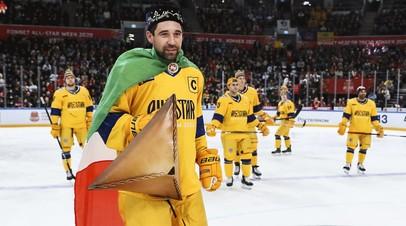 Команда дивизиона Харламова выиграла конкурс «Сила броска» на Матче звёзд КХЛ