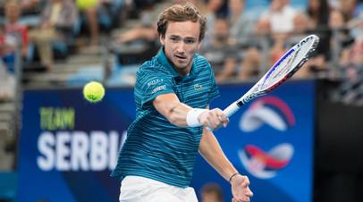 Джокович назвал Медведева главным соперником «большой тройки» на Australian Open