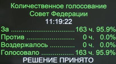 Совет Федерации единогласно утвердил кандидатуру Краснова на пост генпрокурора