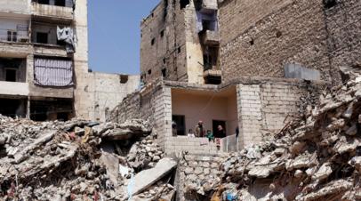При обстрелах боевиков в Алеппо погибли восемь человек