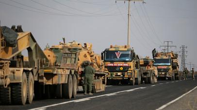 Турецкие силовики начали антитеррористическую операцию в провинции Ширнак