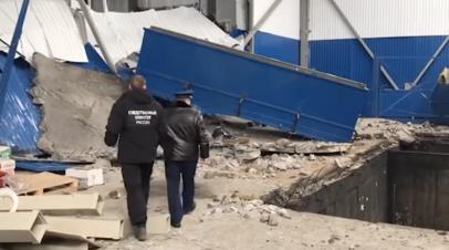 Опубликовано видео с места взрыва в Мценске
