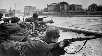 Советские войска ведут бои за Краков