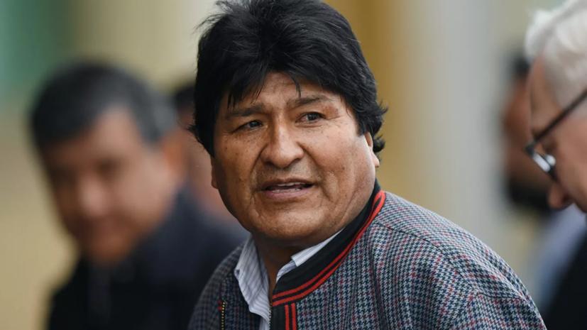 Моралес обратится в прокуратуру из-за изъятия его документов в Боливии