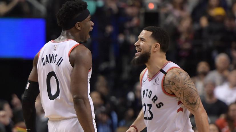 «Торонто» продлил победную серию в НБА до 11 матчей
