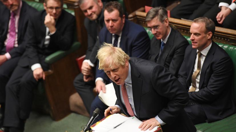 Джонсон: Британия не намерена принимать некоторые стандарты ЕС