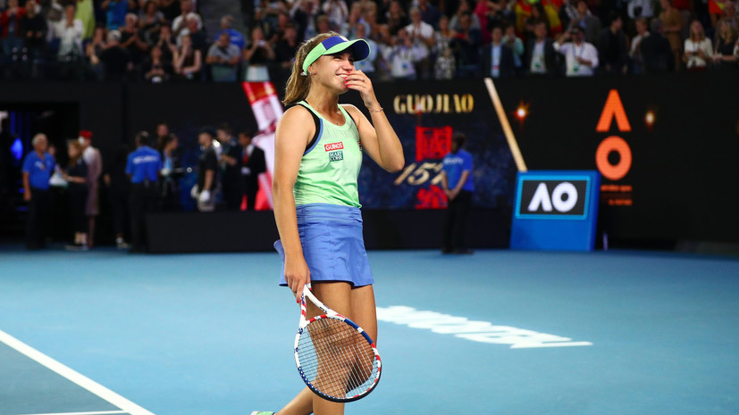 Чемпионка Australian Open Кенин поднялась в топ-10 рейтинга WTA