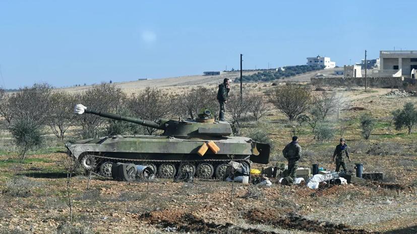ЦПВС прокомментировал заявление Турции об обстреле позиций военных САР