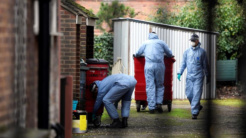 Полиция провела обыски по делу о теракте в Лондоне