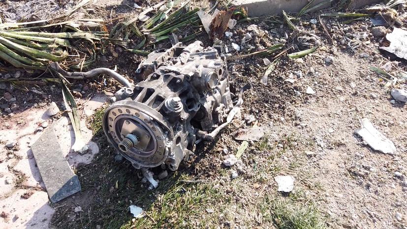 Киев заявил о продолжении расследования авиакатастрофы в Иране