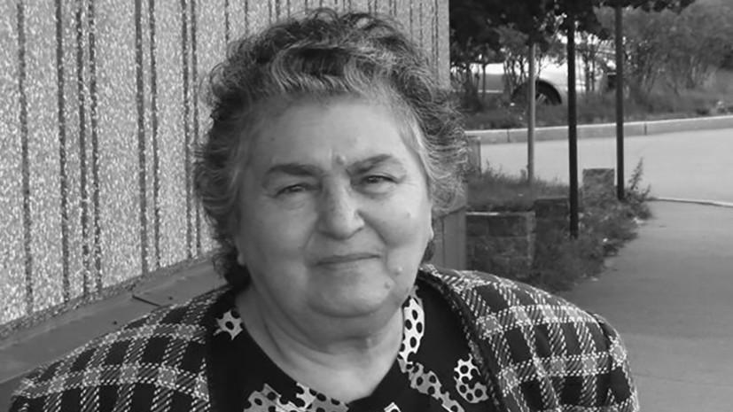 Умерла бывший главный редактор «Ленфильма» Фрижета Гукасян