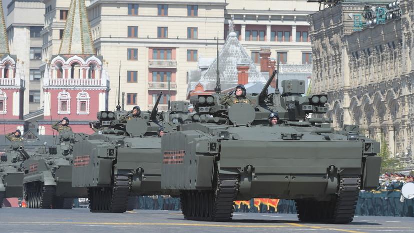 Мантуров сообщил о госиспытаниях машин«Курганец-25» и«Бумеранг»