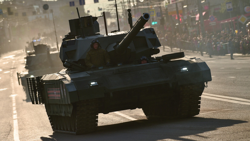 Названы планируемые сроки завершения госиспытаний танка «Армата»