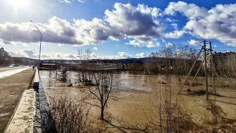 В некоторых районах Краснодарского края введён режим ЧС из-за подтопления